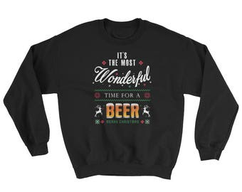 Sweatshirt It's The Most Wonderful Time For A Beer