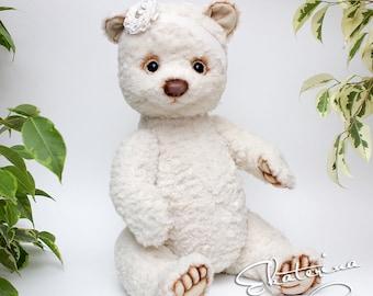 Teddy bear Biti handmade toy gift 14 inches