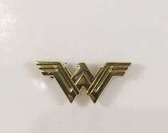 DC Comics Wonder Woman Movie Logo Lapel Pin