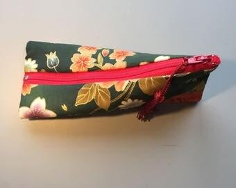 floral Japanese fabric box Kit