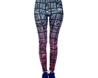 Mayan Patterned Leggings