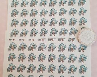 Bin Day / Take Bin Out Stickers