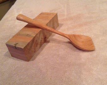 255 Oak Slanted Spoon