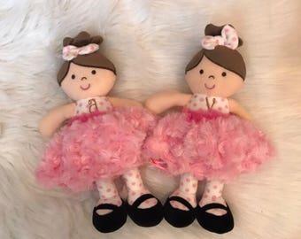 Ballerina Rattles/Plush/Dolls