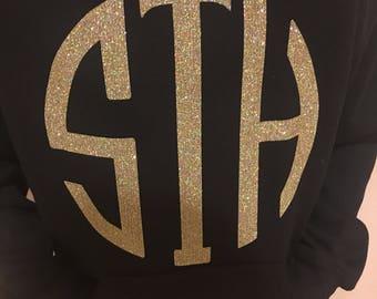 Large monogram hoodie <3