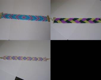 to choose from, seed beads bracelet, bracelet beads, woven bracelet, woven beaded bracelet