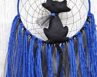 Black Cat Dreamcatcher