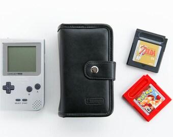 BitLounger BitBook Nintendo Gameboy Pocket/Color Storage Pouch Case for Retro Video Games Game Boy Pocket Wallet