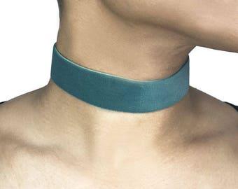 Turquoise  Velvet Choker