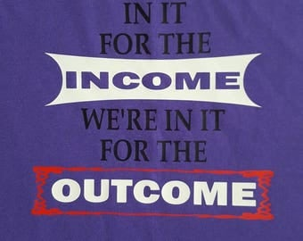 Teaching, Not in it for the Income ~ Love Teaching ~ Teachers ~ Not in it for the Income