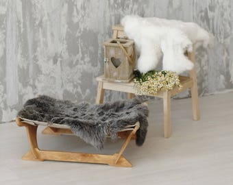 Cat hammock - Ergonomic cat bed (Lapin). Сat furniture, cat beds, cat hammock bed, pet beds, pet furniture, kitty hammock