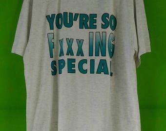 Vintage 90s Rare Radiohead Creep Shirt