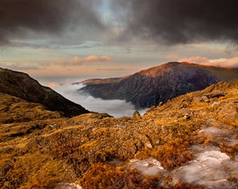 Summits above the clouds