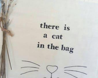 Tote bag cats