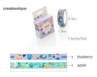 Masking Tape blueberry/PAPER Tape/Deco Tape/washi tape