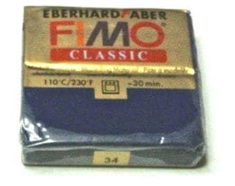 Navy Blue classic polymer