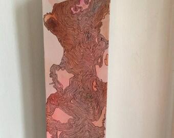 Original Organic Abstract Drawing/Painting by Marissa McNutt