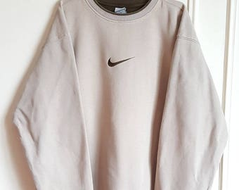 Vintage early 90-00 Nike Sweatshirt 80% cotton size XL.