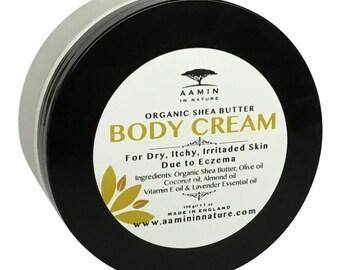 Organic Shea Butter, Body Cream, Body Butter, Shea Butter, Moisturiser, Dry Skin, Moisturising Cream.
