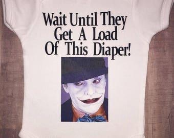 Joker Infant Onesie