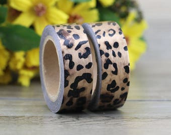 Washi Tape - Decorative Tape - Paper Tape - Planner Tape - Leopard Washi Tape
