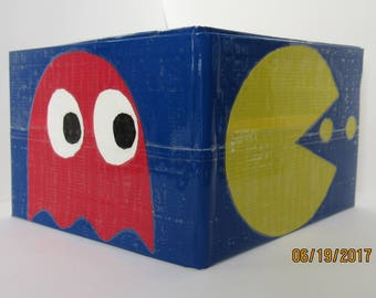 Pacman Duct Tape Wallet