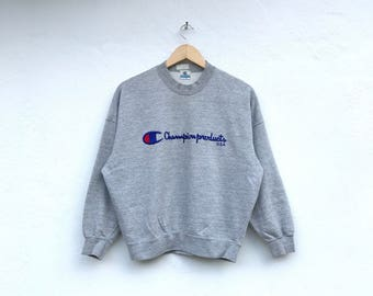 CHAMPION PRODUCTS vintage spellout sweatshirt