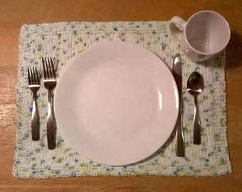Handmade Knitted Table Placemat