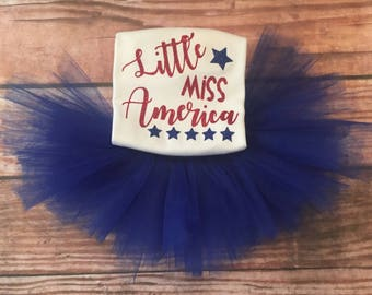 Girls Fourth of July outfit, 4th of july outfit, 4th of july shirt and tutu set