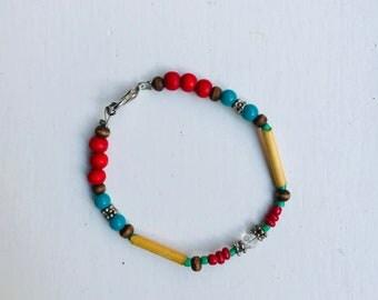 Colored bracelet Red Blue