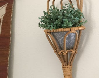 Vintage and repurposed plant holder