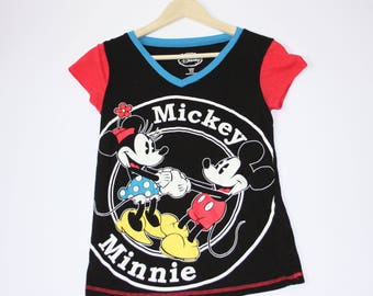 Disney Vintage Mickey Mouse and Minnie women's size: 4-6