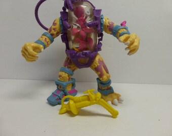 TMNT Mutagen Man 1990 Original Classic Complete with weapons Teenage Mutant Ninja Turtles  Action Figure