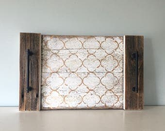 Serving tray - Reclaimed Barn Wood - Home Decor
