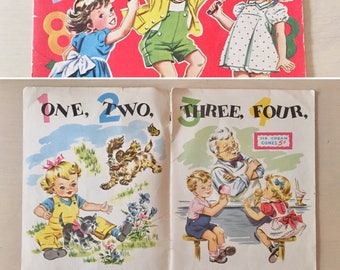 SALE- Vintage Children's Book