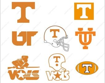 Tennessee Vols Svg bundle football party Svg Dxf Eps Png Ai Digital File design Print Mug Shirt Decal