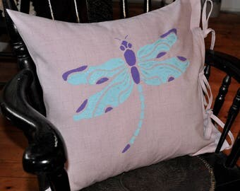 Dragonfly pillow, dragonfly, dragonflies