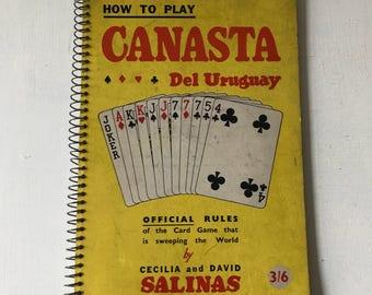 How to Play Canastas Del Uruguay by Cecilia and David Salinas  1949