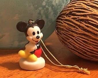Walt Disney Mickey Mouse Vintage Ceramic Christmas Ornament Schmid