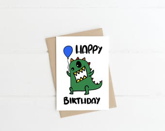 Children's Happy Birthday Card