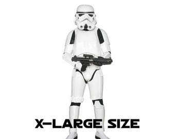 SPECIAL OFFER Star Wars Stormtrooper Costume Armour with Accessories and Ready to Wear - Original Replica - A New Hope - Xl Extended Size