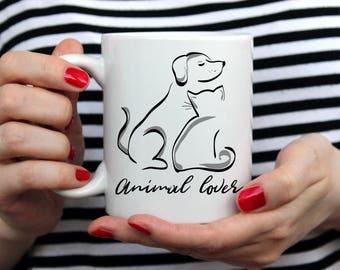 Cat, Dog, Cat lover, Dog lover, Animal lover, Cat lover gift, Dog lover gift, Valentines Day, Bestseller