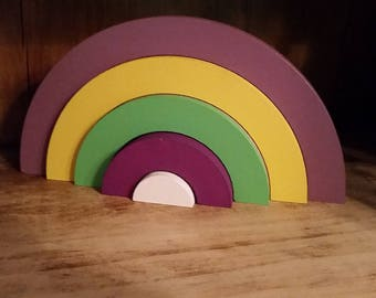 Rainbow decoration