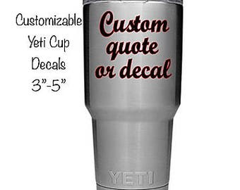 Custom Vinyl Decal Etsy - Custom vinyl decals etsy