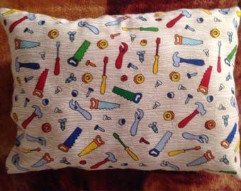 Tools theme pillow