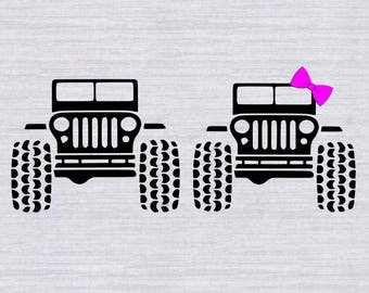 Jeep Hair Svg Etsy