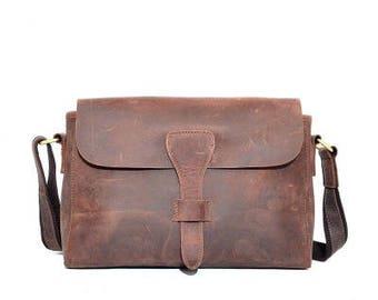 Crossbody bag -  small leather bag