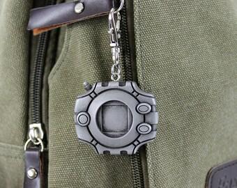 Digimon Digivice Aluminum Keychain/Necklace