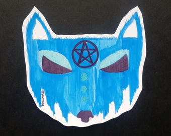 Dream Fox Sticker