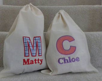 Personalised Dap bag/PE bag/Ballet bag. Perfect for little ones